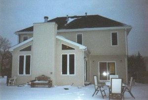 Northbrook sunroom - Before Addition before